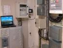 Eolienne verticale. Office Public de l'Habitat