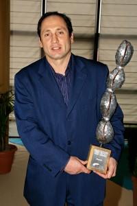 Hervé Harel reçoit le trophée des bureaux d'études en 2008