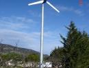 Installation d'une éolienne - Camping (Drôme)