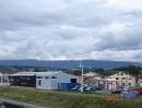 Installation reprise d'une éolienne pour une entreprise en Suisse.